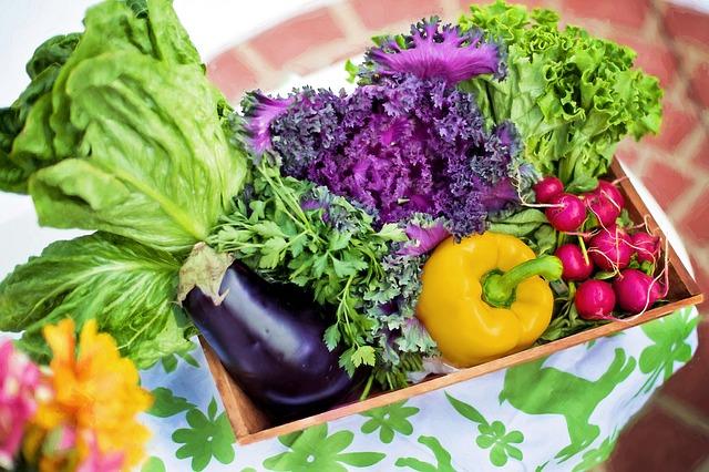 Gemüse im Reiskocher