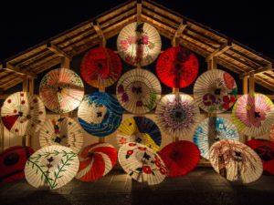 Japanischer Reiskocher Fest in Japan