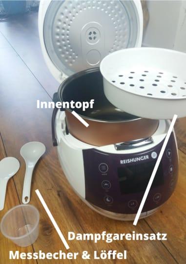 Reishunger digitaler Reiskocher Test, wie gut ist er wirklich?
